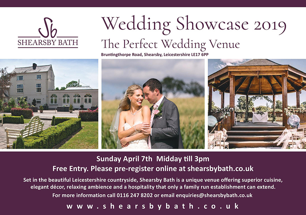 Shearsby Bath Spring Wedding Fayre