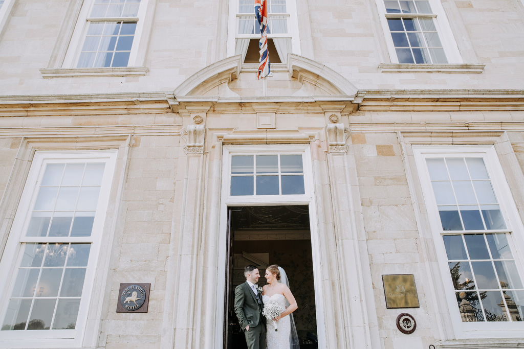 Stapleford Park Wedding with Rebecca Dawe Photography