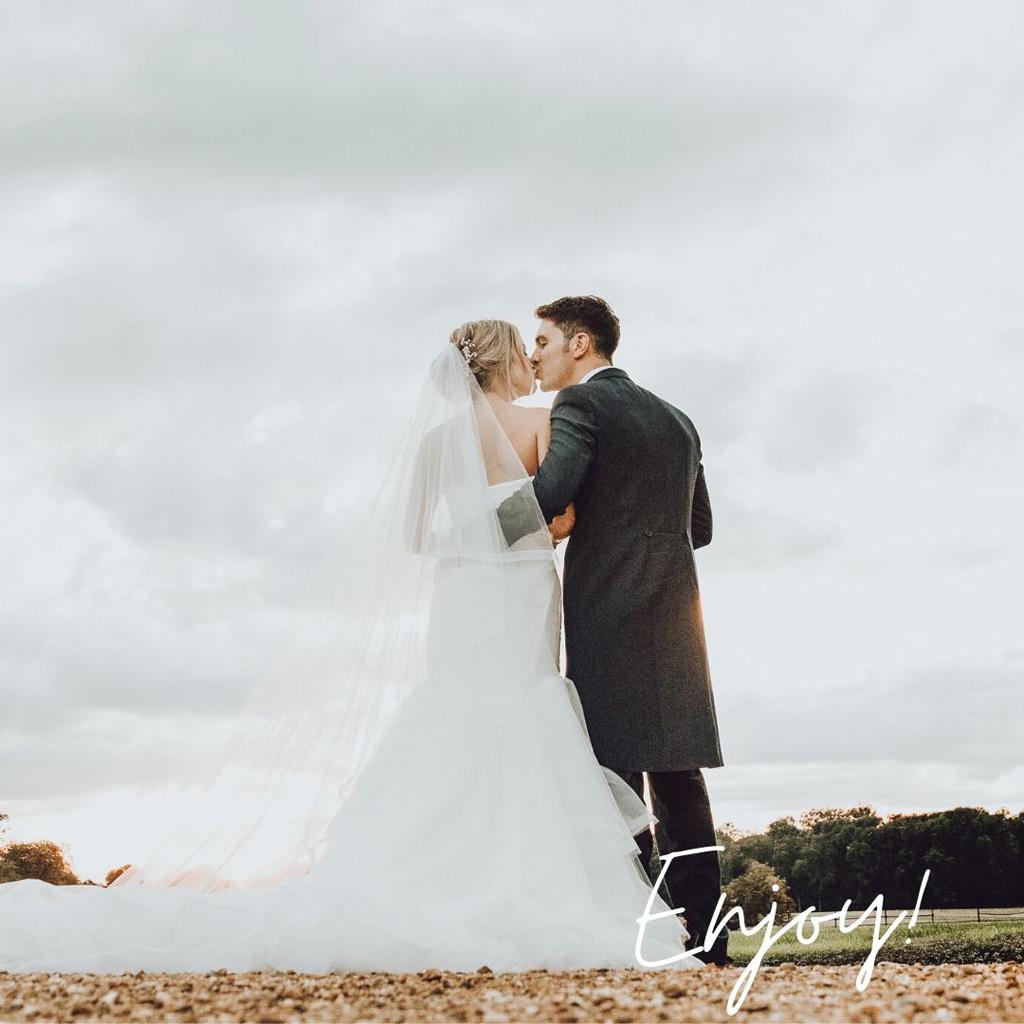 Enjoy your wedding celebrations!